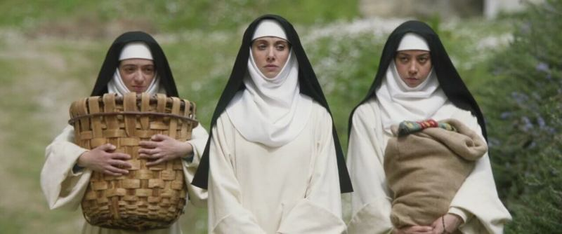three nuns walking movie