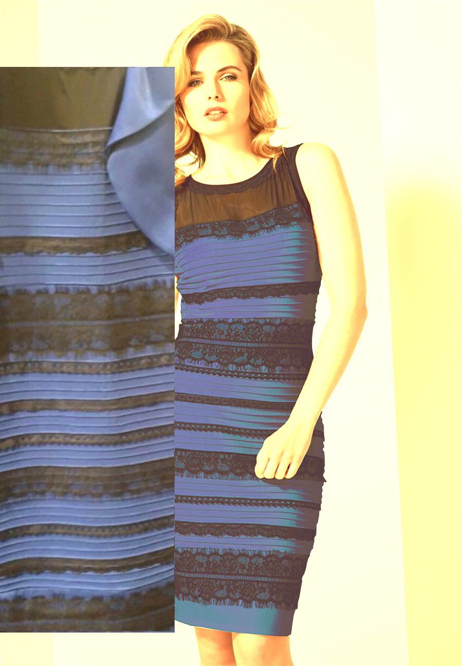 How Does A Black And Blue Dress Sometimes Appear White And Gold