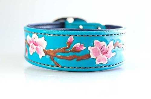 Cherry Blossom Dog Collar
