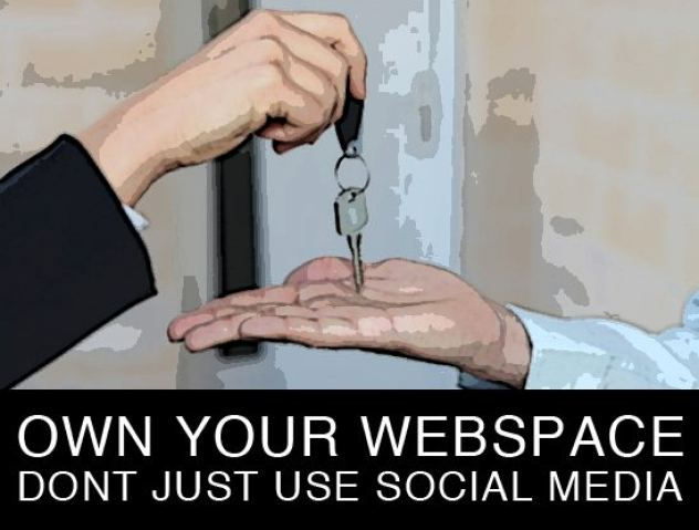 Own Your Webspace