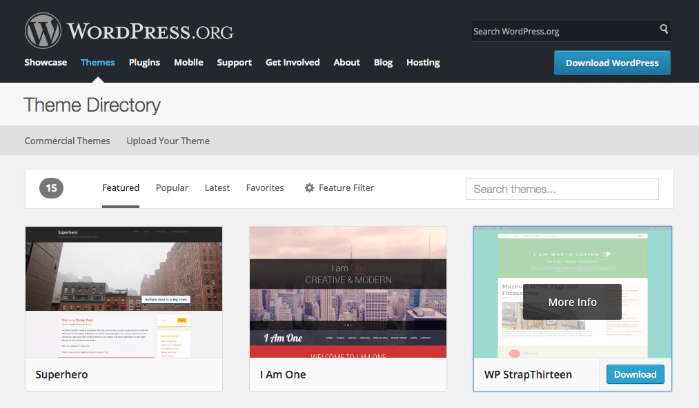 WP Theme Directory