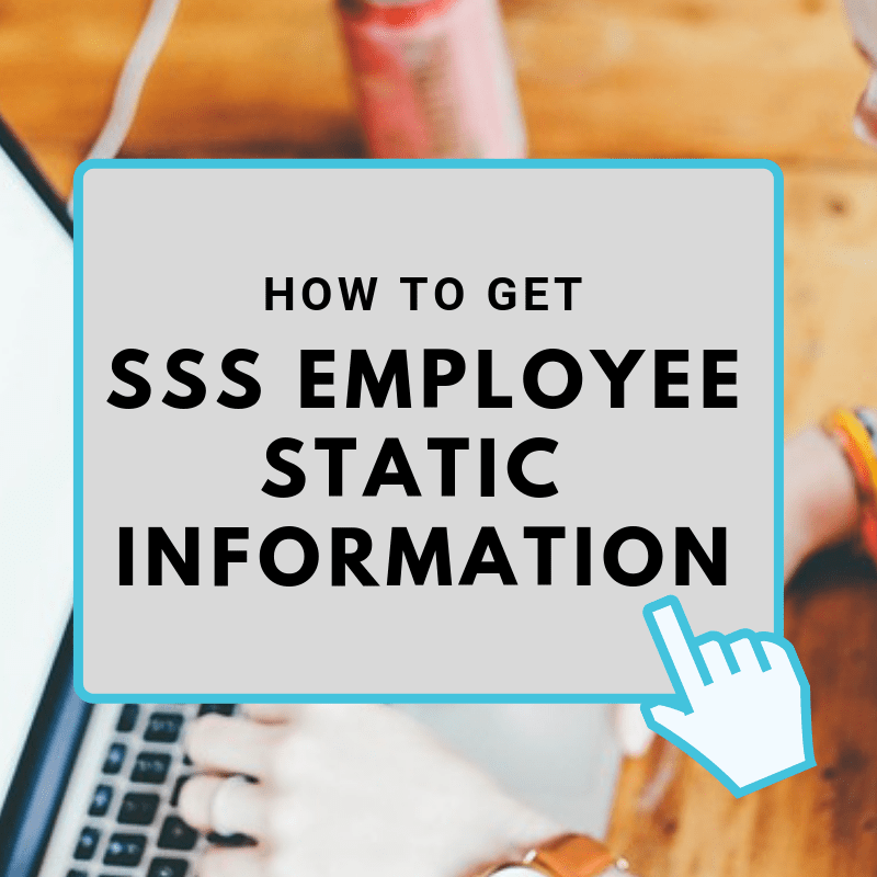 Sss Employee Static Information And Employment History Print