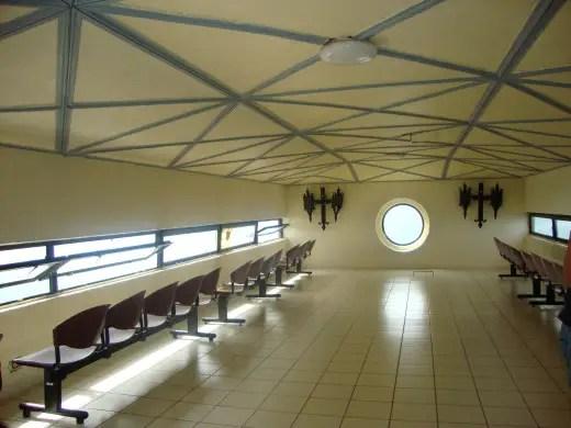mt samat memorial cross viewing room