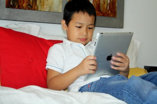This kid has an ipad and wants some more....