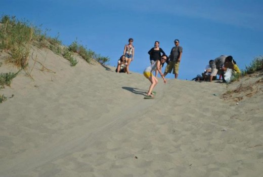 sandboarding ilocos sand dunes