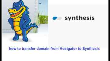 transfer from hostgator to synthesis hosting