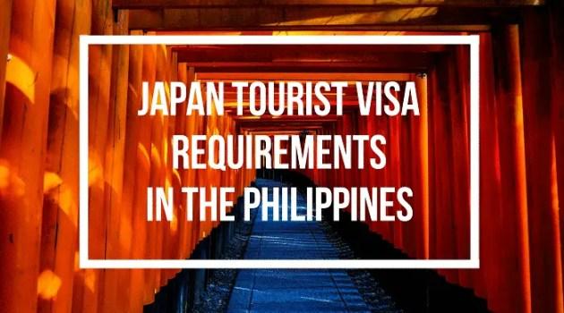 japan tourist visa requirements for filipinos