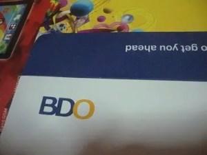 how to open bdo uitf requirements application procedure