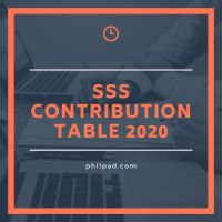 new sss contributions table 2020