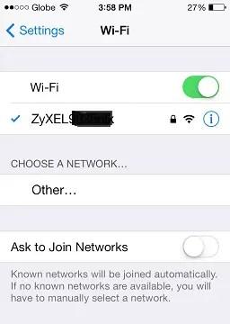 fix wifi iphone 4s 5 5c 5s