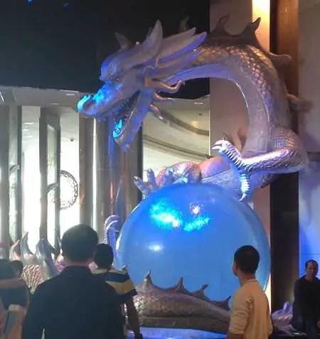 the dragon in city of dreams macau