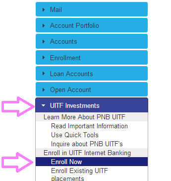 open pnb uitf account online