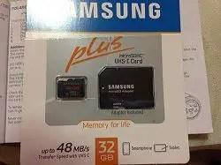 polaroid xs100i micro sd card