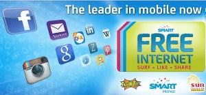 free internet for smart talk n text sun cellular