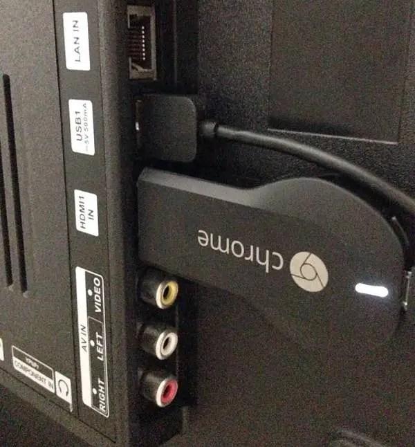 chromecast tv set up