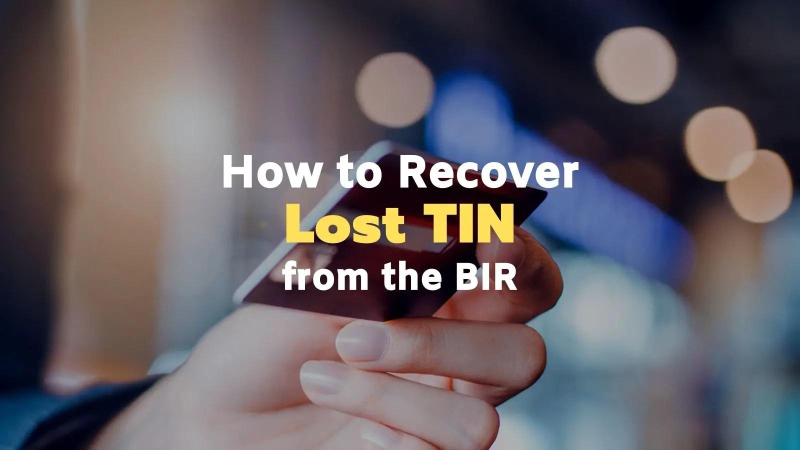 how to verify tin number online bir