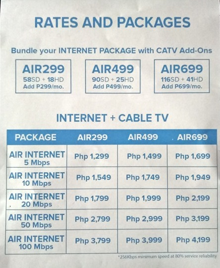 converge air internet review