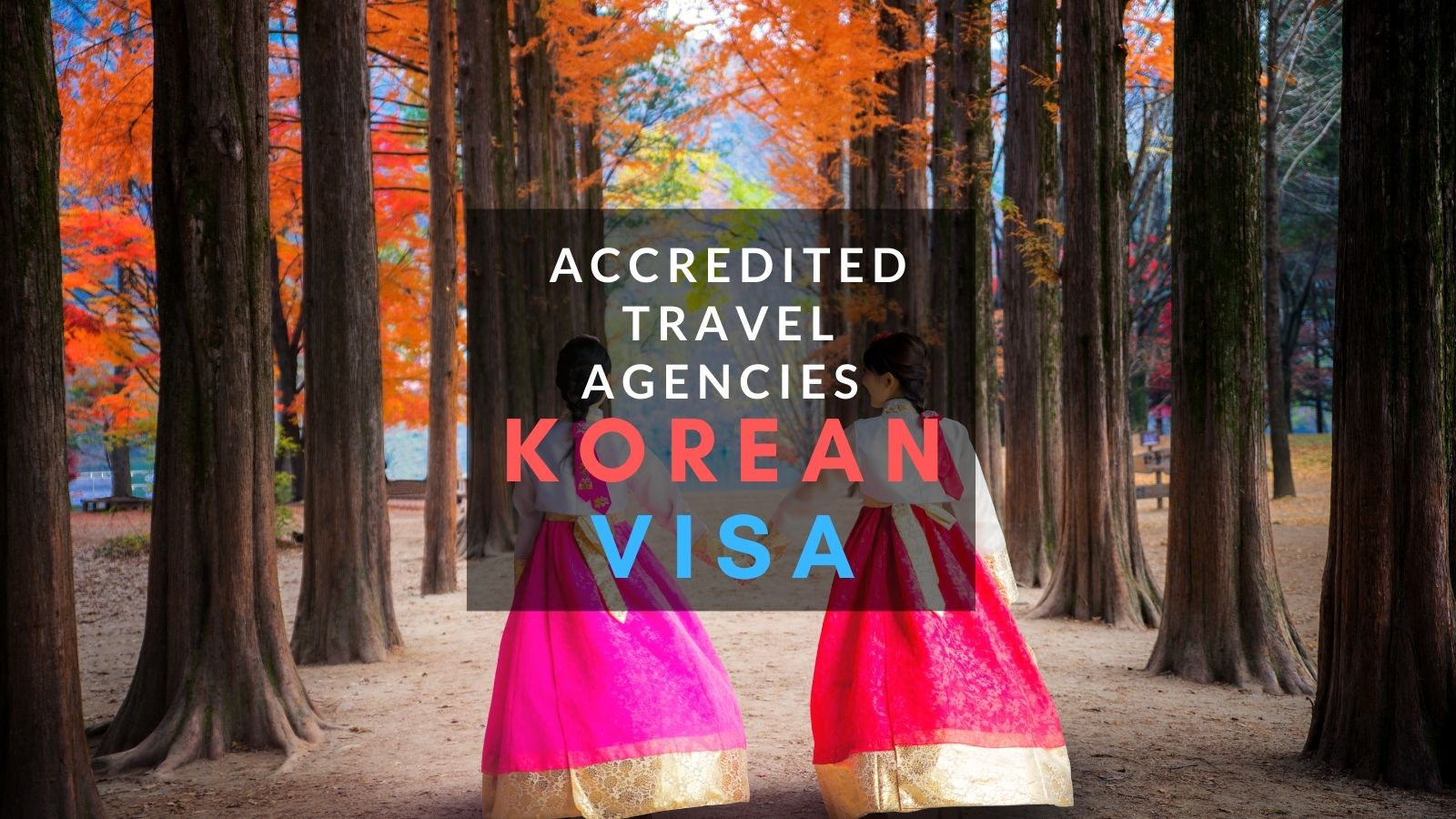 list of accredited travel agencies for korean tourist visa application philippines