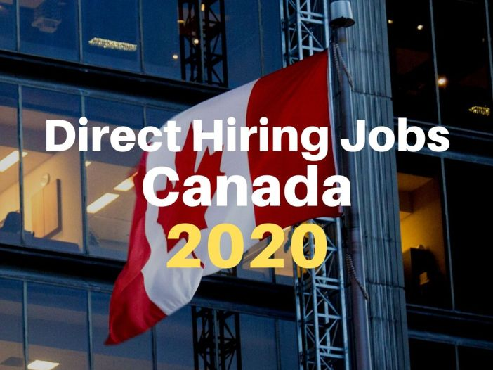 direct hiring jobs canada 2020