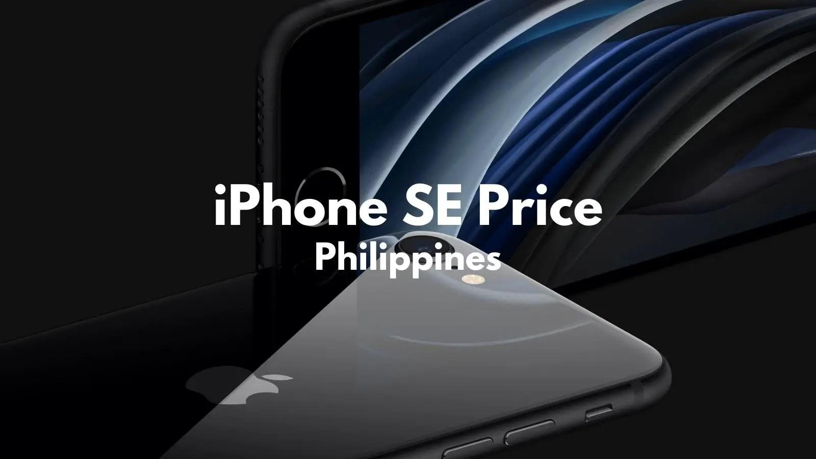 iphone se 2020 price philippines