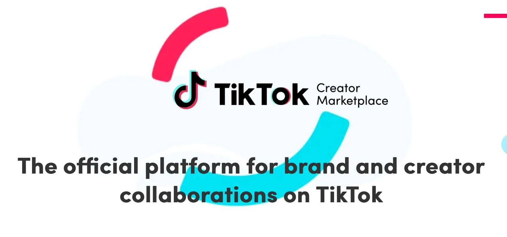 tiktok creator marketplace