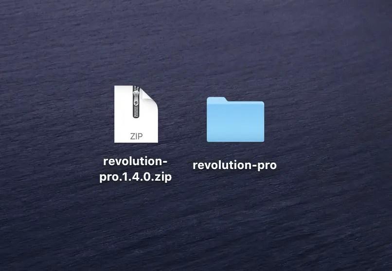 how to unzip files mac