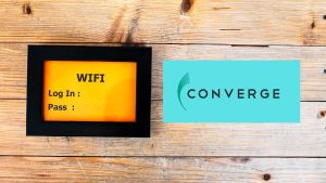 how to change converge password