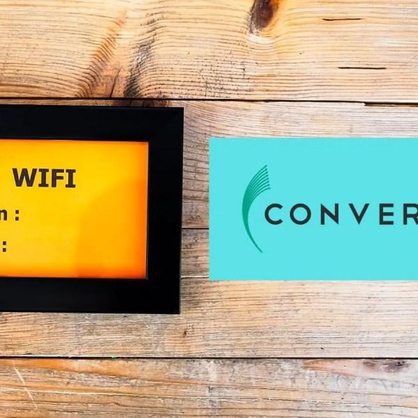 how to change converge password