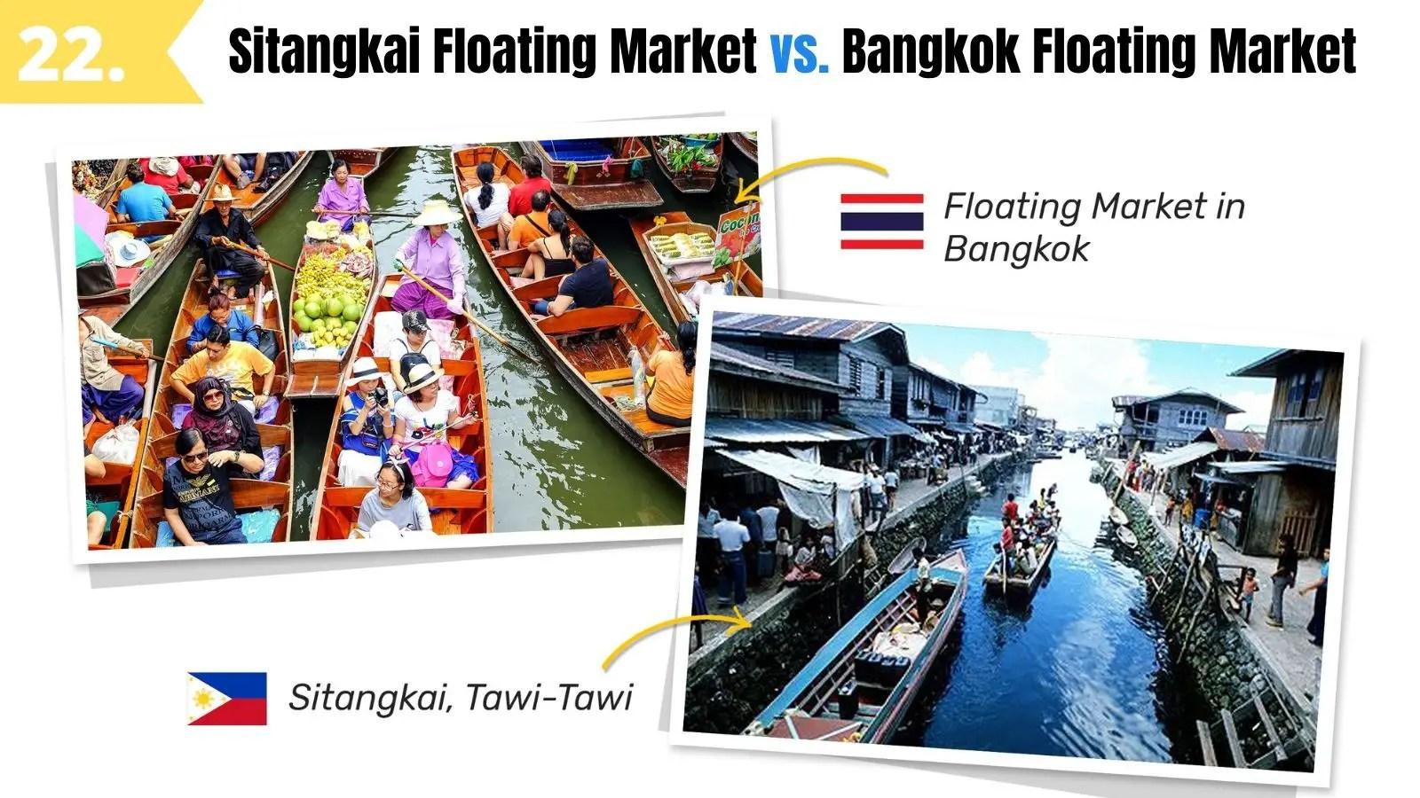 sitangkai floating market tawi tawi