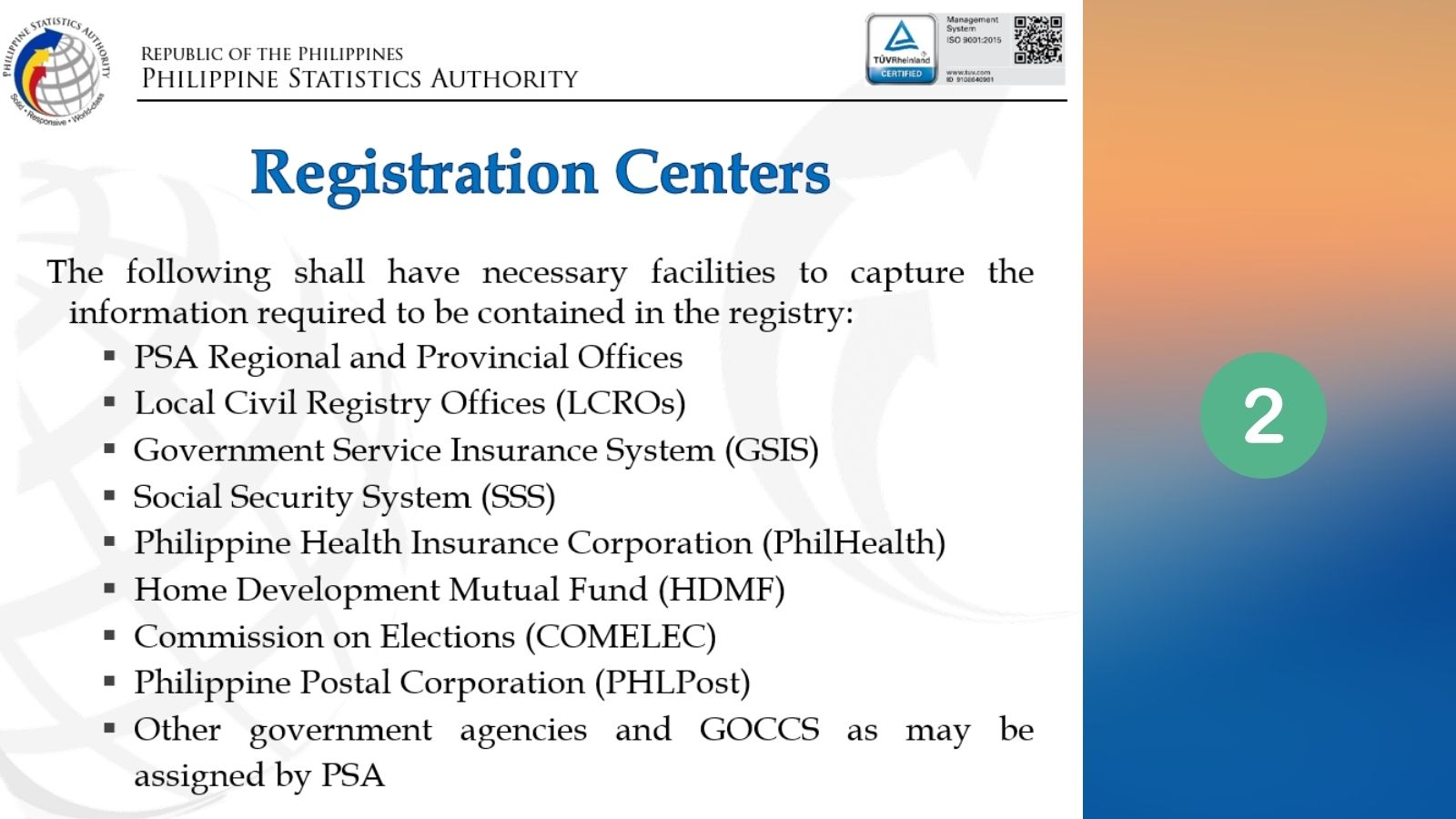 national id registration center step 2