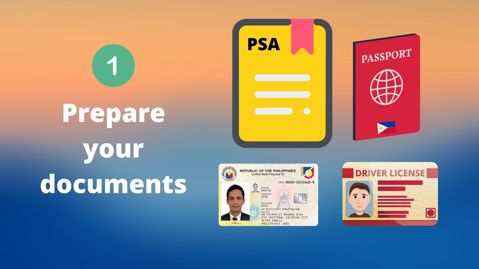 philippine national id requirements step 1