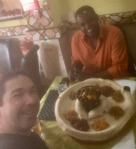 An Ethiopian lunch with Girma