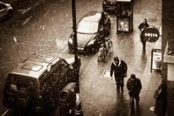 Soho Snow storm