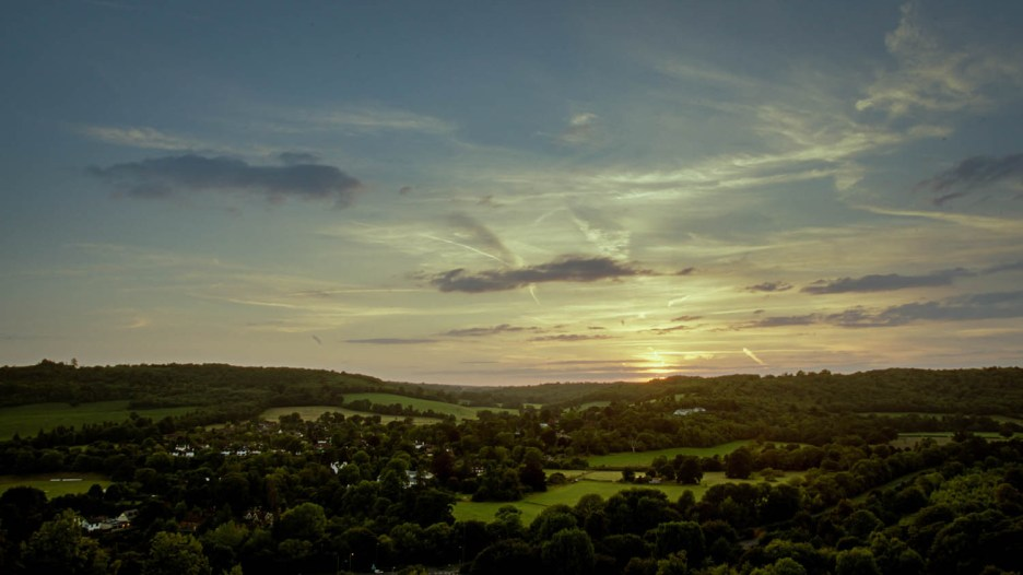 Box Hill Sunset