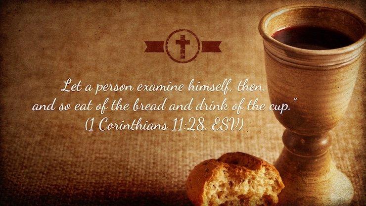 1 Corinthians 11:28