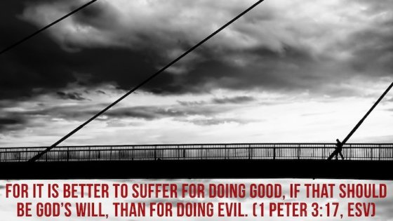Suffering for Doing Good