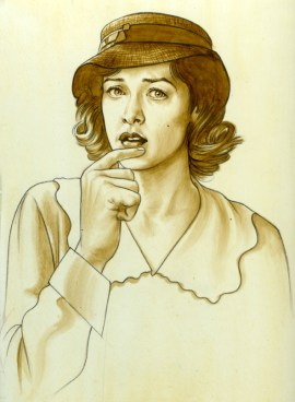 Phil Roberts Movie Poster Art Original Watecolor