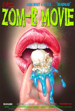ZomB Movie Poster by Phil Roberts