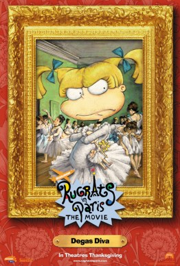 Angelica - Rugrats in Paris movie campaign by Phil Roberts