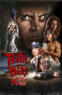 Truth or Dare Movie poster illustrated by Phil Roberts