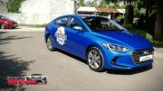 Test driving the Hyundai Elantra