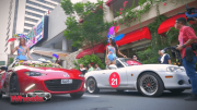 Beauty queens go out for a ride with Mazda