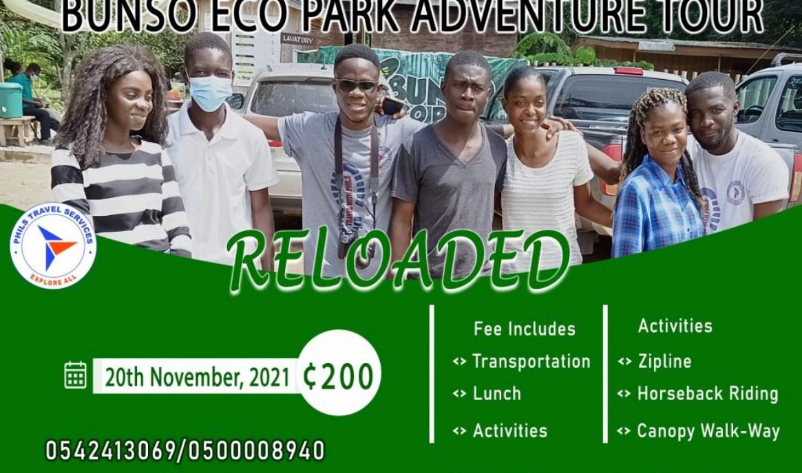 Bunso Eco Park Adventure Tour Reloaded