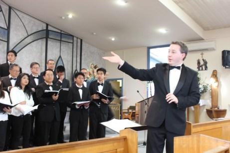 Choir Conductor Tom Buchanan