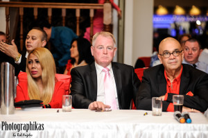 judges Sindy Hobman, George Munro and Cyril Lubin