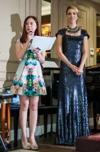 Roslyn Foo and Jess Davis
