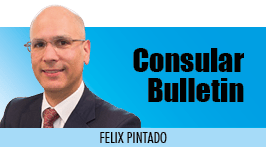 Consular Bulletin - Felix Pintado