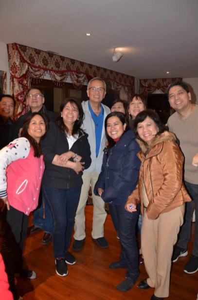 CFC-FFL Head Frank Padilla with Core Elder couples Chamie and Winnie Tejada, Group Servant Leader Boy and Ruby Banaag, Elmer and Jane Bandalan, and Ric and Rose Mendoza.