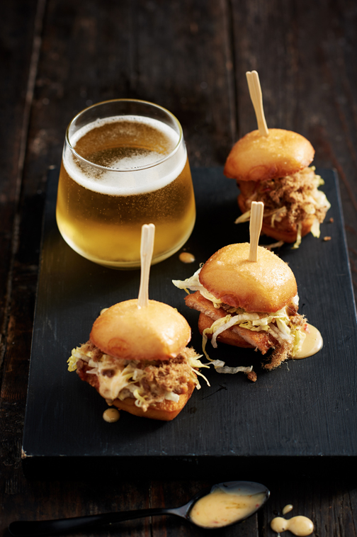 Chefs Gallery macanese style mini burgers