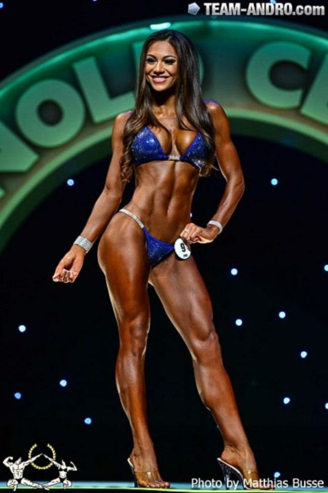 Janet Layug is named First runner-up at the Arnold Classic Australia Bikini competition!